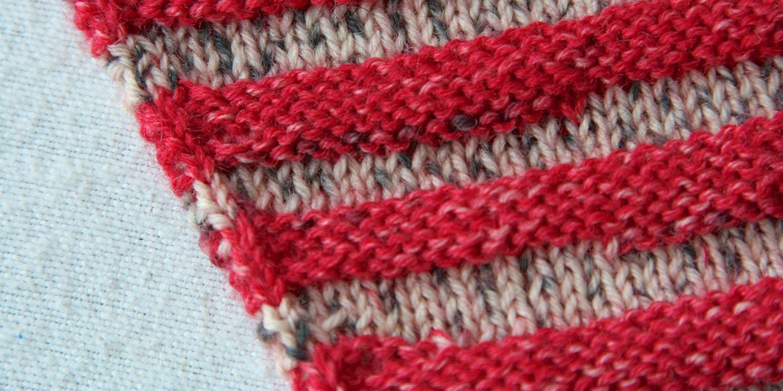 Reverse Stocking Stitch Seams