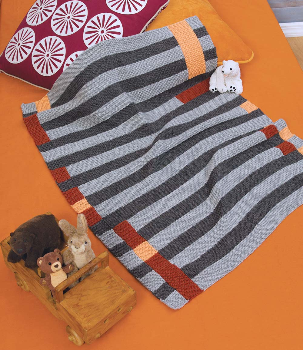 Modern Art Baby Blanket