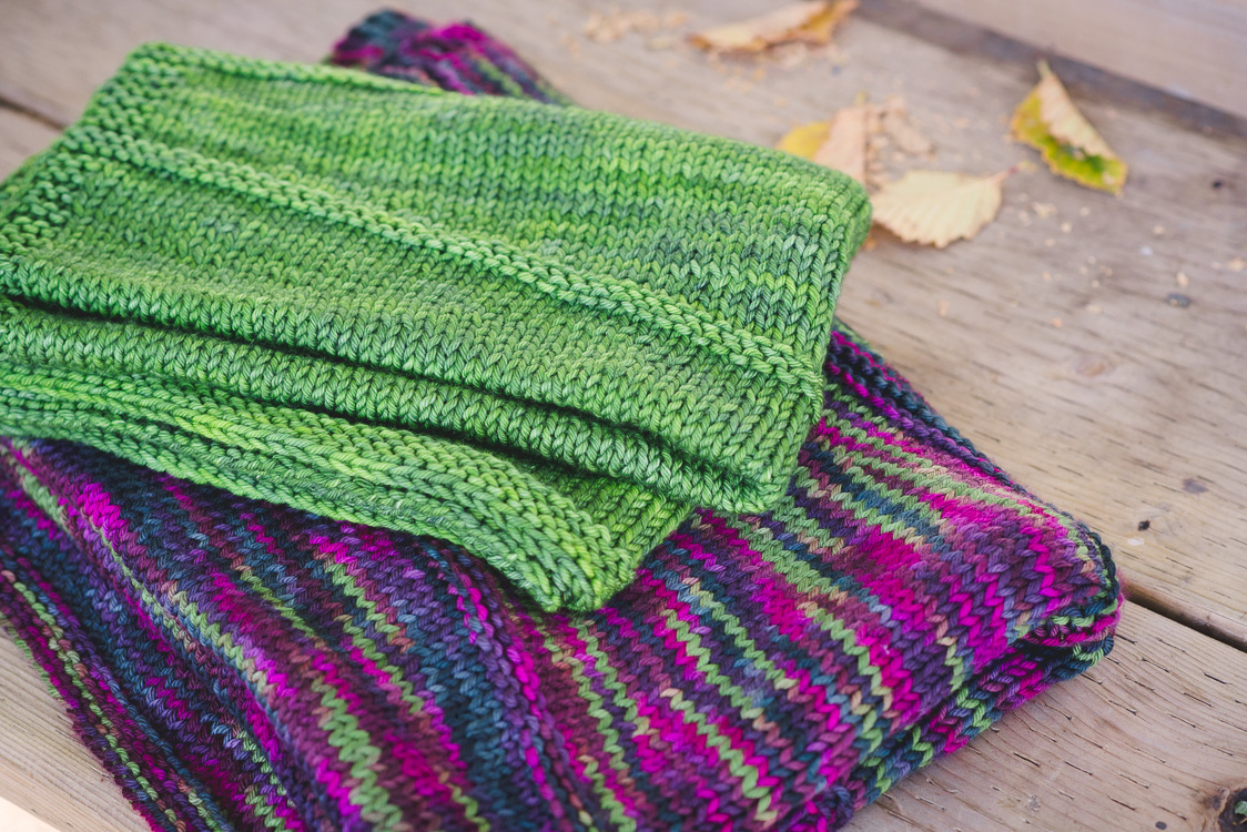 Ebb & Flow blanket knitting pattern (baby, lap, throw) by Holli Yeoh | Tempest book
