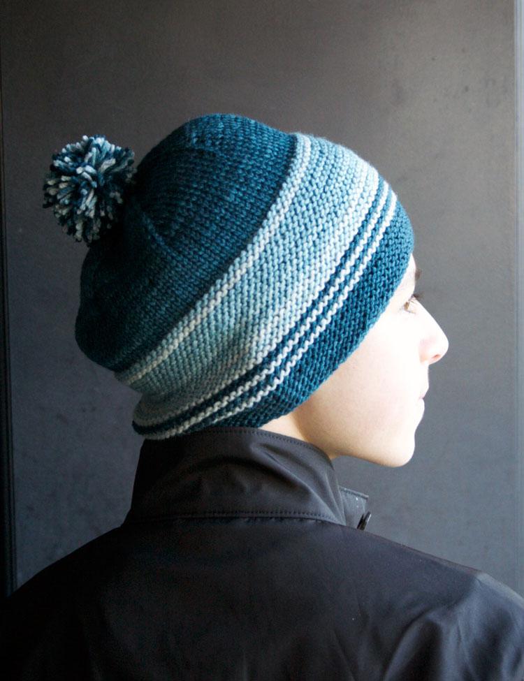 Garter Stitch Cap