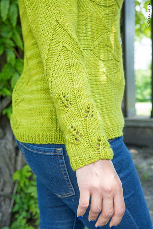 Philodendron cardigan knitting pattern by Holli Yeoh | Twist Collective Fall 2015