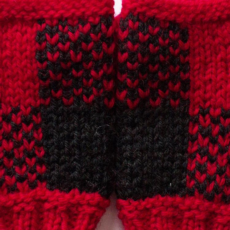 Checkered Stitch Pattern